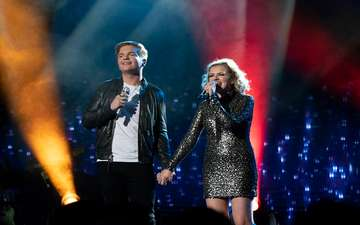 Caleb Lee Hutchinson and Maddie Poppe Unveil Their Romance During American Idol Finale