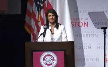 Nikki Haley states Trump's unpredictability as the