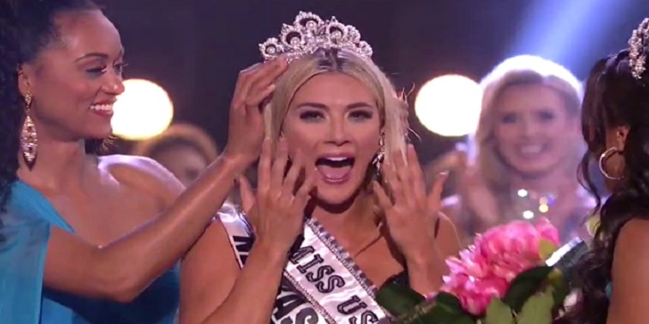Miss Nebraska Sarah Rose Summers Becomes Miss USA 2018