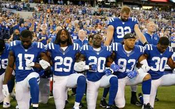NFL's New Policy; Bans Players Kneeling Down During National Anthem