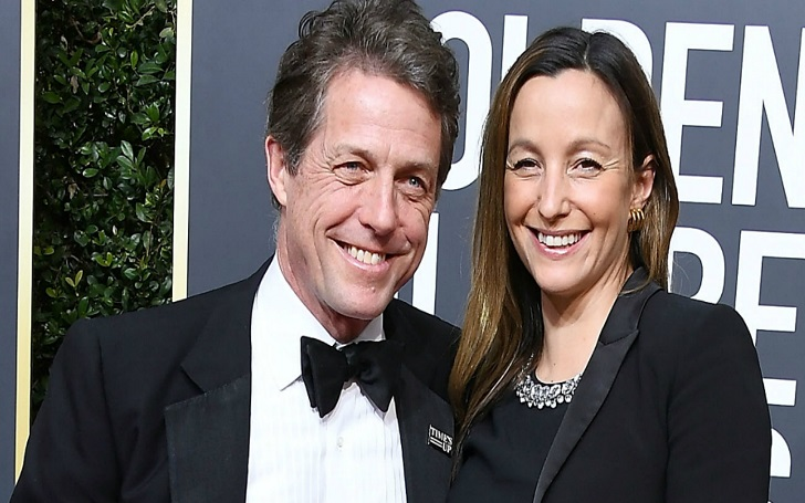 Hugh Grant Marries Longtime Girlfriend Anna Eberstein: Wedding Details