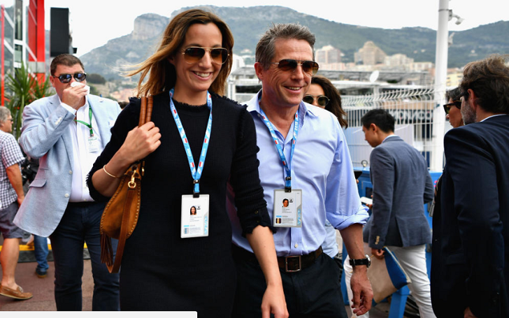 Hugh Grant's Unusual Honeymoon in Monaco With Wife Anna Eberstein After Friday Wedding