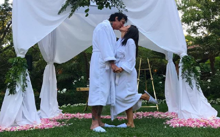 Tommy Lee and Brittany Furlan Were Joking About Their Wedding: They Are Not Married
