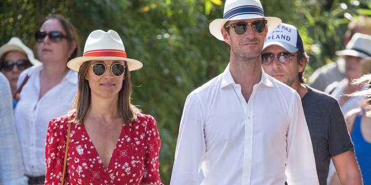 Pippa Middleton is Pregnant and Showed off her Baby Bump at French Open