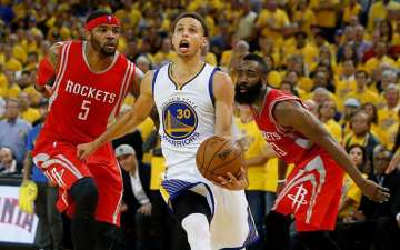 NBA Playoffs: Golden State Warriors 101-92 Houston Rockets; Will face Cleveland Cavaliers in the NBA Finals