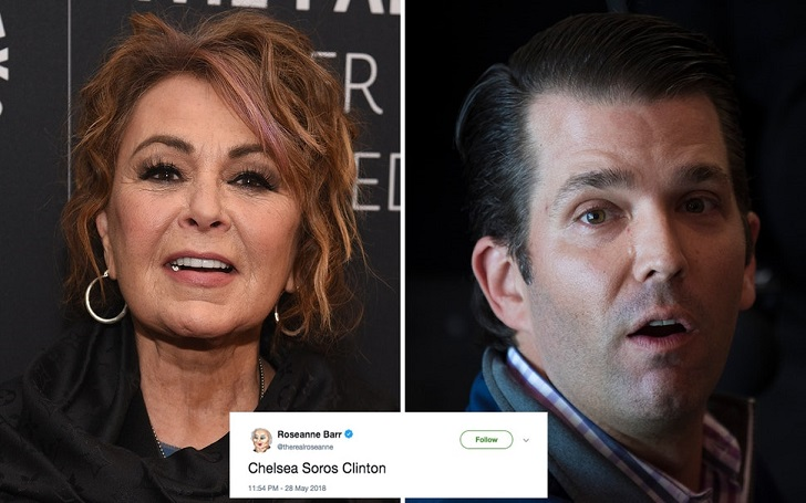 Is Donald Trump Jr. Angry At Roseanne Barr: Retweets Her Racist Tweet