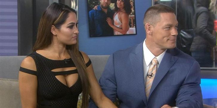 Nikki Bella Surprised; Finds Flowers and a Love Letter from John Cena