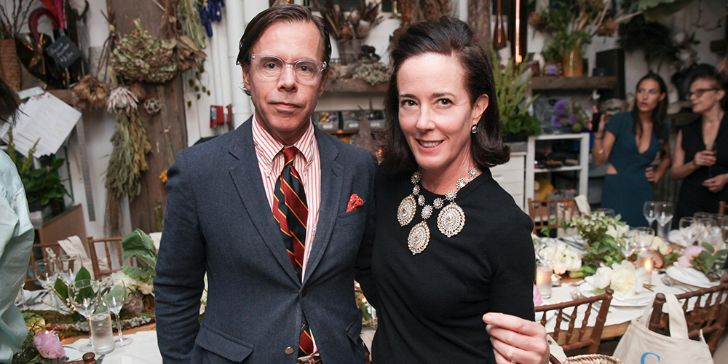 Andy Spade Overcomes Sadness; Talks about Wife Kate Spade's Death