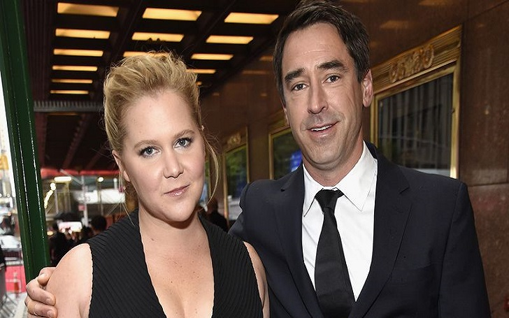 Amy Schumer and Husband Chris Fischer Makes Red Carpet Debut as a Couple at Tony Awards 2018