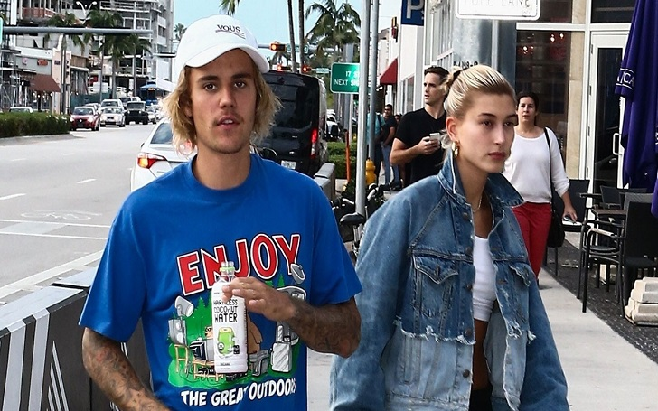 Justin Bieber and Hailey Baldwin Leave Miami After a Cozy Movie Date: Photos
