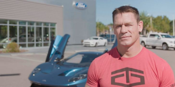 John Cena and Ford Settle Dispute over Sale of a $450,000 supercar