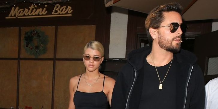 Sofia Richie Models for Scott Disick's Ooh La Luxe