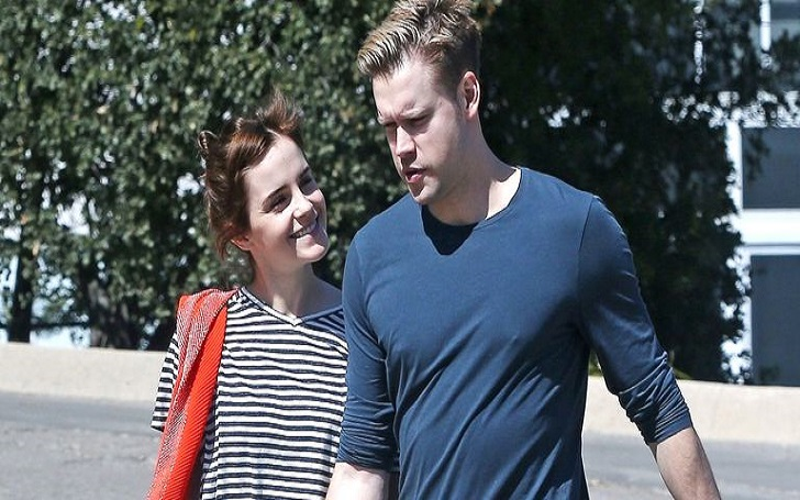 Emma Watson and Chord Overstreet Confirm Relationship, Sharing a Passionate Kiss