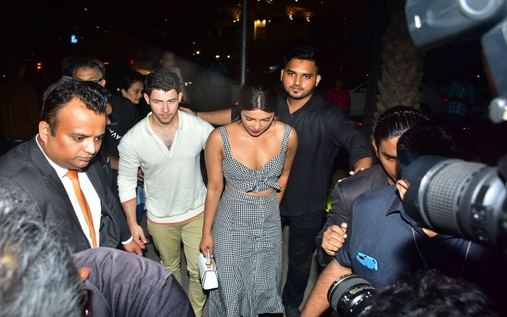 Priyanka Chopra Brings Boyfriend Nick Jonas to India & Steps Out Together For a Date Night