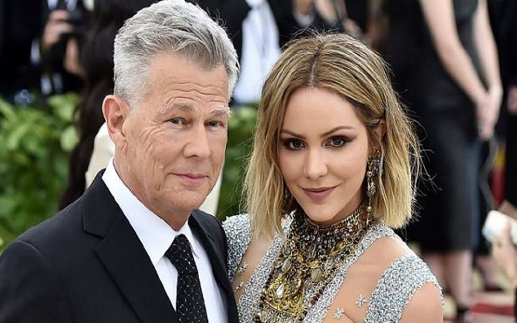 Katharine McPhee Reveals How Boyfriend David Foster Proposed Her: Engagement Ring Photo