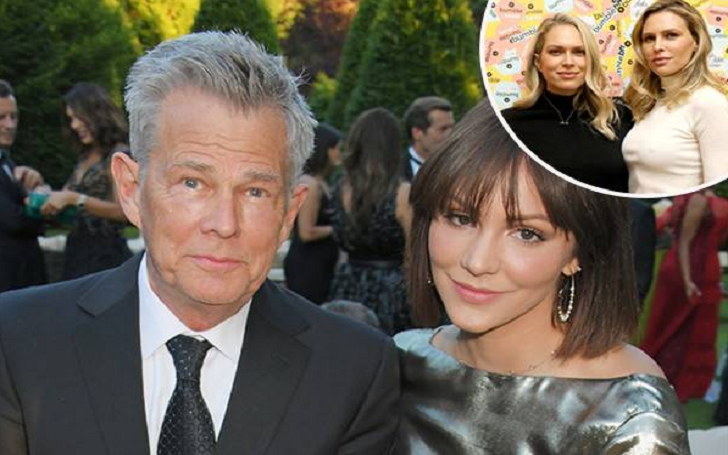 David Foster's Daughters Erin and Sara Reactions to His Engagement to Girlfriend Katharine McPhee, 34