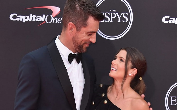 Danica Patrick Shares PDA Photo With Aaron Rodgers After Debuting ESPY Together