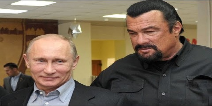 Russia Appoints actor Steven Seagal as Special Envoy to Improve Russia-US Ties