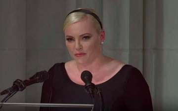 John McCain's Friends Defend Meghan McCain After Donald Trump's Dissing at Funeral