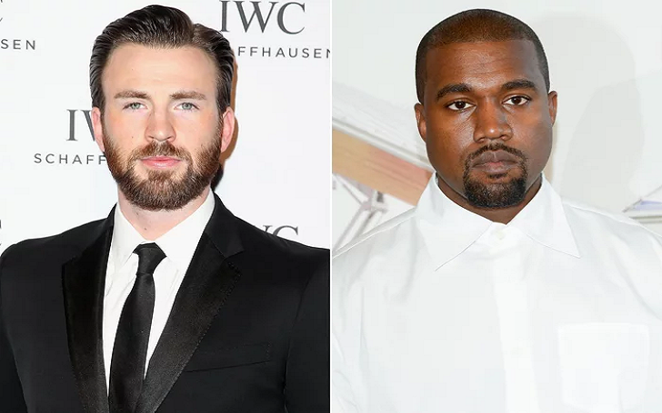 Chris Evans Slams Kanye West For His MAGA Rant Tweet