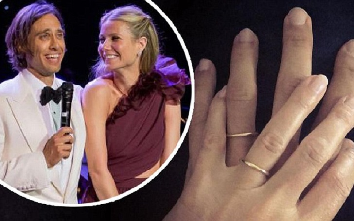 Gwyneth Paltrow Debuts Wedding Ring With Husband Brad Falchuk After Getting Married