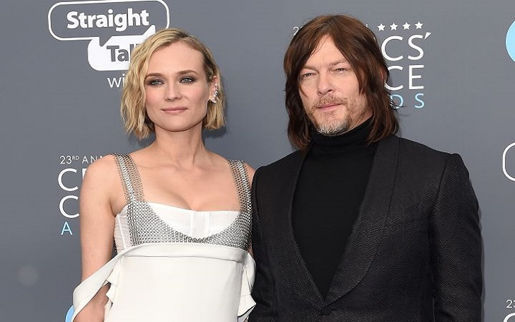 Norman Reedus' Girlfriend Diane Kruger Gives Birth, Welcomes First Child Together