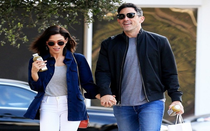 Jenna Dewan Packs on PDA, Kisses Boyfriend Steve Kazee in Beverly Hills: Photos