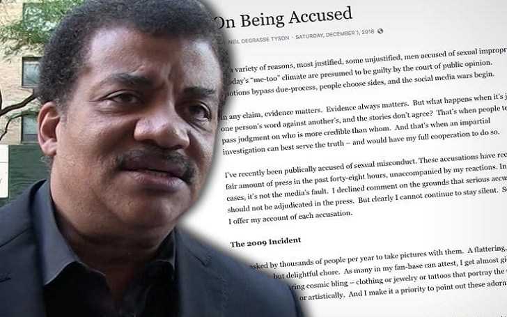 Neil DeGrasse Tyson Denies Sexual Misconduct Accusations