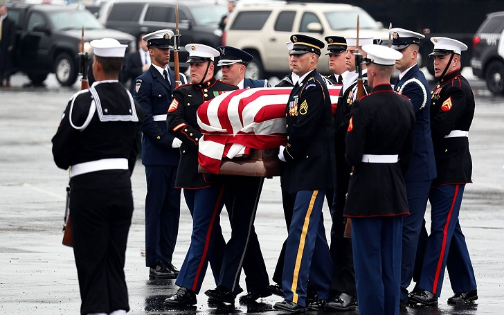 George H.W. Bush Laid to Rest, Buried in College Station, Texas: Funeral Photo