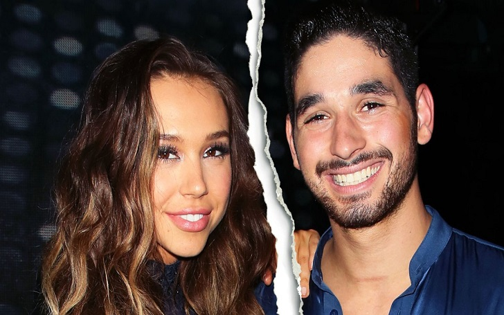 Dancing With the Stars' Alan Bersten and Alexis Ren Split, Ended Relationship