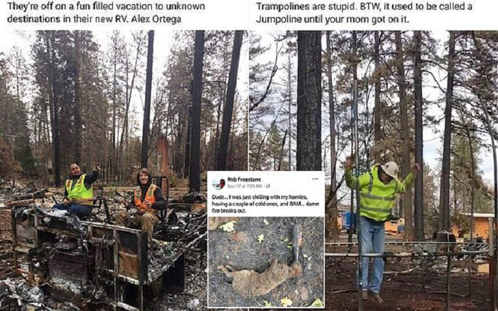 Paradise, California Wildfires: Cleanup Workers Fired For Posting 'Abhorrent' Photos