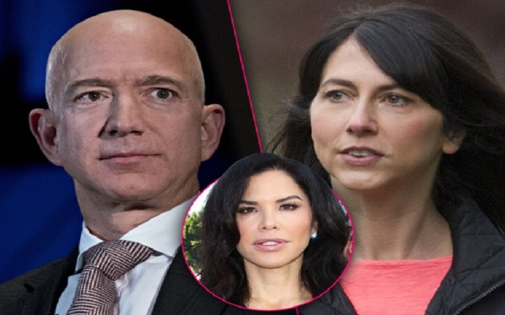 Jeff Bezos Wears Wedding Ring at Golden Globes Party, Cheated Wife MacKenzie With Mistress Lauren Sanchez Before Split