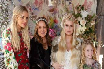 Eric Johnson's Pregnant Wife Jessica Simpson Reveals Unborn Daughter's Name at Baby Shower: Photos