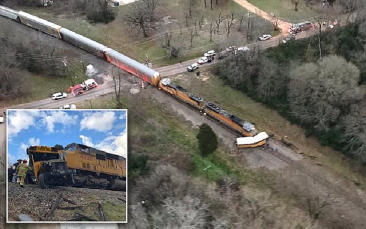 Freight Train Struck Into School Bus in Texas: A Student, 13, Killed and Two Injured