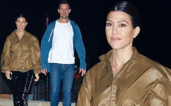 Kourtney Kardashian Spotted With Mystery Man After Dinner in Malibu: Dating?