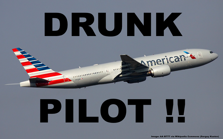 American Airlines Plane Pilot Arrested for Being Drunk