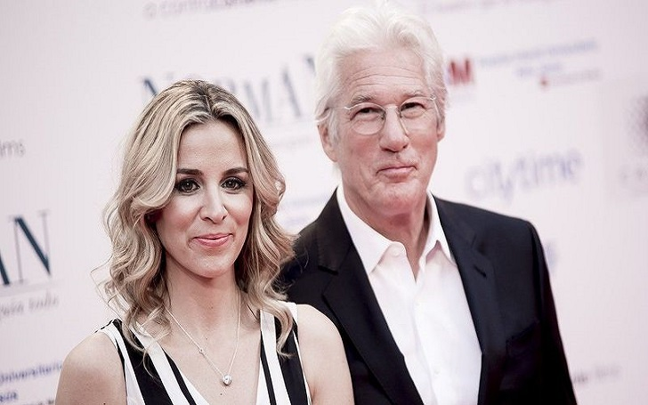 Richard Gere's Wife Alejandra Silva Gives Birth, Welcome First Child, a Baby Boy Together