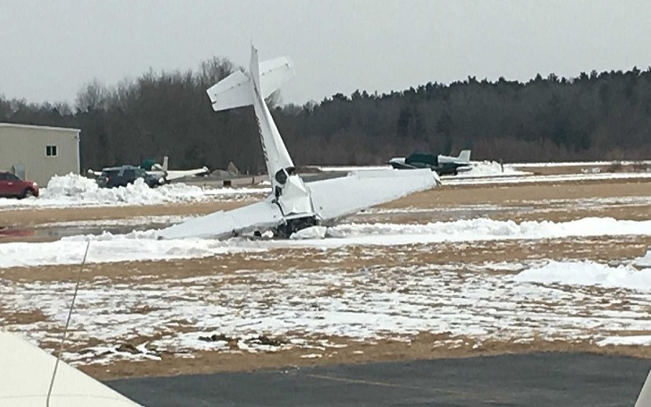 Two People Killed in a Small Plane Crash, Catches Fire at Massachusetts Airport