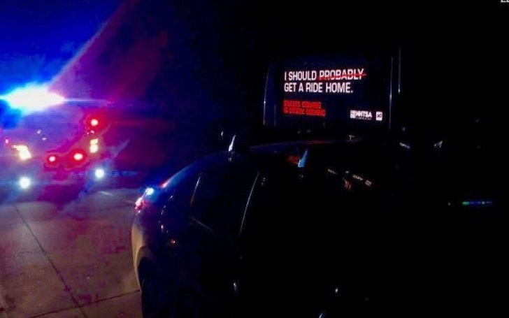 California Man Arrested of DUI Drove Car With Anti-DUI Sign