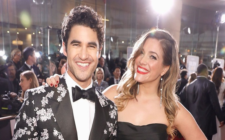 Darren Criss and Mia Swier Share a Kiss at Lisa Vanderpump's Tom Tom Bar
