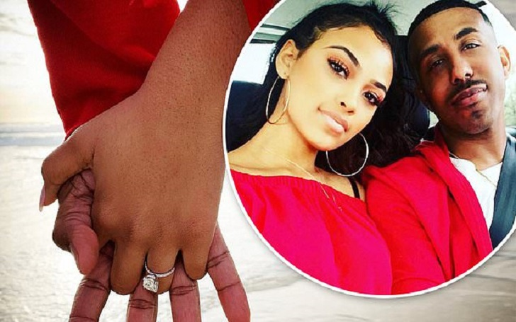 'Sister, Sister' Star Marques Houston is Engaged to Girlfriend Miya