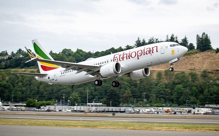 Ethiopian Airlines' Boeing 737-800 MAX Carrying 149 Passengers and 8 Crew Members Crashes after Takeoff