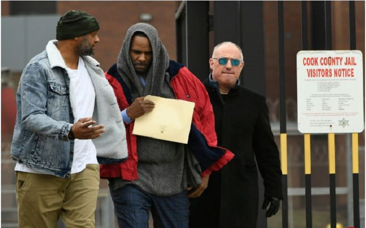 R. Kelly Set Free from Cook County Jail after Paying $161,633 to Ex-wife Drea Kelly