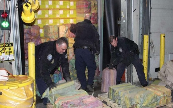 Police Seize 1.6 Tons of Cocaine, worth $77 Million from Port Newark; Biggest Drug Bust in 25 Years