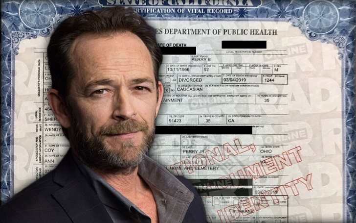 Luke Perry's Exact Cause of Death Revealed: 'Ischemic Cerebrovascular Accident'