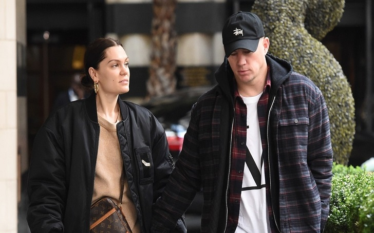 Channing Tatum and Jessie J Go Public With Their Relationship: Pack PDA in London