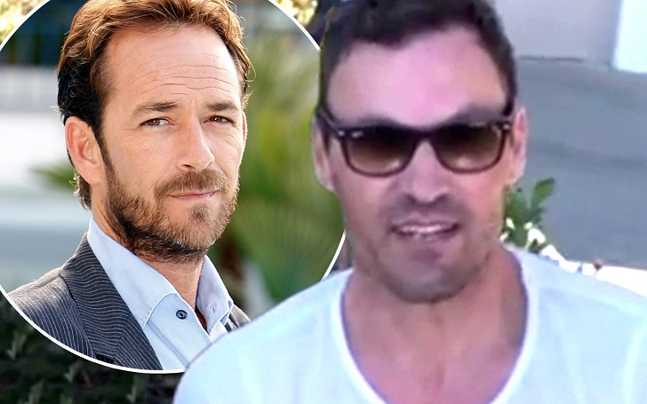 Brian Austin Green Defends Not Paying Tribute to 'Beverly Hills, 90210' Co-star Luke Perry After Death