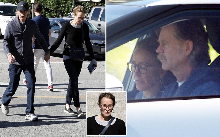 Felicity Huffman and William H. Macy Hold Hands While Returning to Court Amid College Admissions Scheme