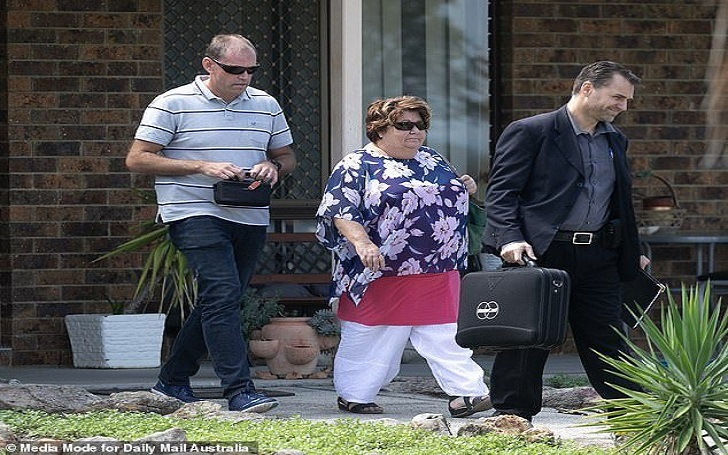 Brenton Tarrant's Mom Sharon Tarrant Exits House after Son Gunned Down 50 Mosque Goers