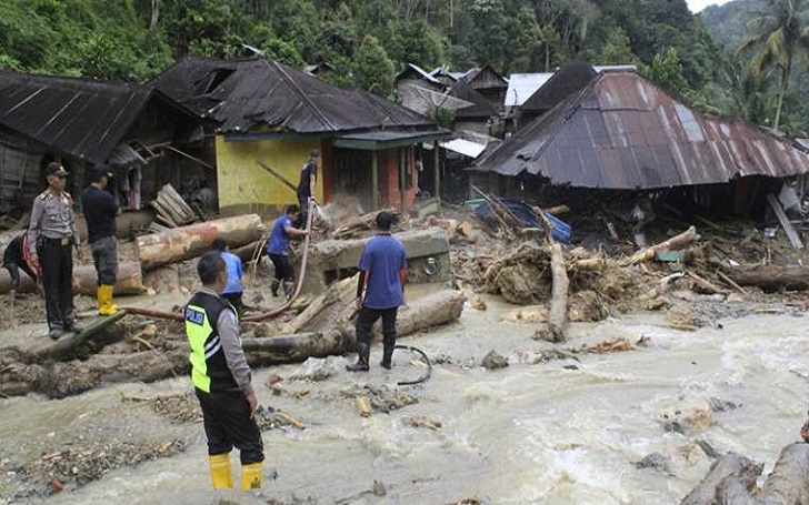 Flash Floods Caused by Earthquake Kills At Least 58 in Jayapura, Indonesia